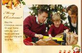 Comment faire une eCard de Noël Flash