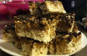 Chocolatement d'arachide beurre Rice Krispie traite