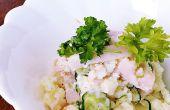 Manière facile de faire cuire la salade de pomme de terre savoureuse !