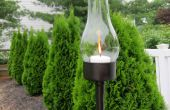 Lanterne extérieure peut de thon