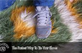 Le moyen le plus rapide pour attacher vos souliers
