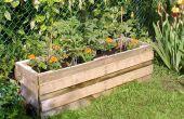 Maison Grenouille et Chez le Crapaud - jardinière de légume construit à partir de palettes recyclées