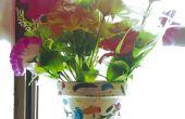 Peindre le Pot de fleur Splatter (inspiré par Jackson Pollock)