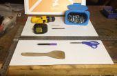Coroplast rangement pour outils et jouets
