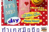 Etui pour téléphone bricolage Glitter Glue !