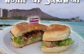 Waikiki ' ahi (Steak de thon) Sandwich