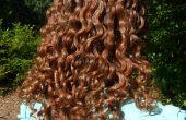 Gel coiffant lin fait maison pour des cheveux frisé, crépus
