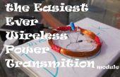 Transmission d'électricité à l'aide de rea pour AVRs sans fil