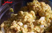 Curry salade d'oeuf