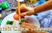CupCake sur le thème irlandais Topper idées