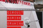 Circuit de Scribe dessin Robot