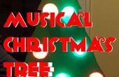 Comédie musicale activée lumière arbre de Noël