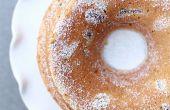 Abricot rhum Bundt Cake