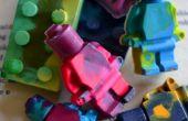 LEGO upcycled Crayons