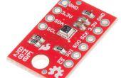 Données du capteur tweeting avec Arduino RedBoard et SparkFun BME280 et ESP8266 de SparkFun bouclier /