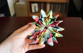 Comment faire Origami Fireworks
