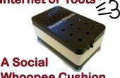 Internet de Toots (IoT): Social coussin péteur
