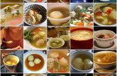 Soupe végétarienne de Matzo Ball