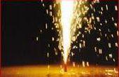 Comment faire un feu d'artifice fontaine