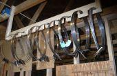 Stockage de lame de scie à ruban