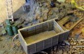 Construction d'un 1/100 imprimé en 3D à l'échelle Horse Drawn Wagon