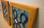 Repurposed vitrail cadres