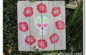 Tenture murale crâne au sucre pour Halloween