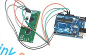 À l'aide de série UART 16 × 2 LCD sur arduino