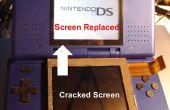 Remplacer l'écran du haut d'une Nintendo DS (sans ouvrir le fond de la moitié)