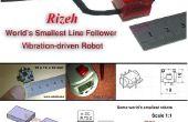 Comment faire le robot d'adepte à la ligne plus petite du monde (robo Rizeh)