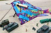 CO2 Rocket Gecko guerre Kite