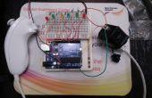 Arduino Wii nunchuck et Wii motion plus avec code mis à jour pour IDE 1.0.2 et del