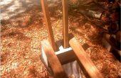 Panier de bois de chauffage à l'aide d'aucun outil