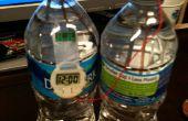Horloge alimenté par de l'eau
