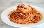 Comment faire des spaghettis en quelques étapes faciles