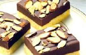 Comment faire Almond Fudge surmonté sablé