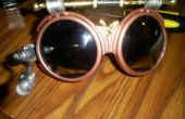 Dirigeable capitaines Steampunk lunettes
