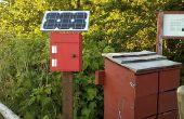 Une Simple Station de recharge solaire