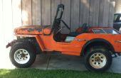 Comment construire un véhicule électrique de la Volt 72 – voiture / Jeep