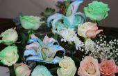 Comment attacher des fleurs de colorant avec osmose