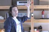 Laser-contrôle iPod en agitant les mains