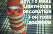 Phare - décoration Aquarium