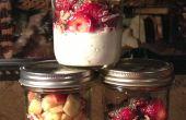 Fromage Cottage & fruits petit déjeuner fait maison