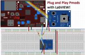 Plug and Play grâce à LabVIEW de Pmods