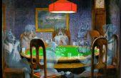 Ghost dogs Playing poker (images fantômes n'importe quelle image dans une scène sont le même)