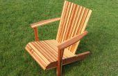 Chaise Adirondack d'une planche