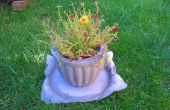 Béton de planteur et béton plaque « oreiller »