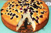 Comment faire un simple gâteau aux bleuets
