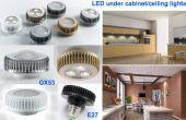 Cuisine sous coffret lampes de LED