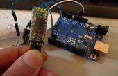 Comment faire pour configurer et tester la connexion Bluetooth de l'Arduino